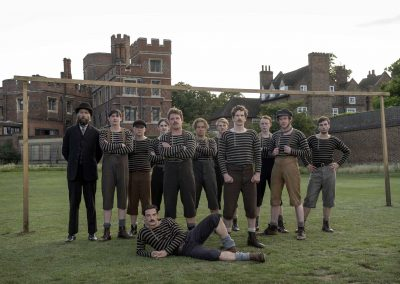 The English Game [Photo: Oliver Upton / Netflix]