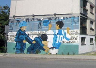 Boban's mythical kick murals (Photo: Dario Brentin)