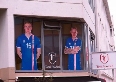 National players of Iceland in advertisements after 2016