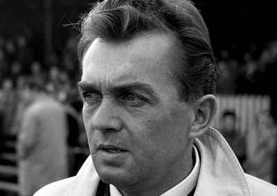 Ernst Happel, 1965 (Photo: Joost Evers / Anefo, Wikimedia Commons).