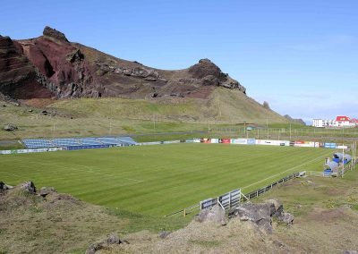 Hásteinsvöllur is a multi-use stadium in Vestmannaeyjar, Iceland