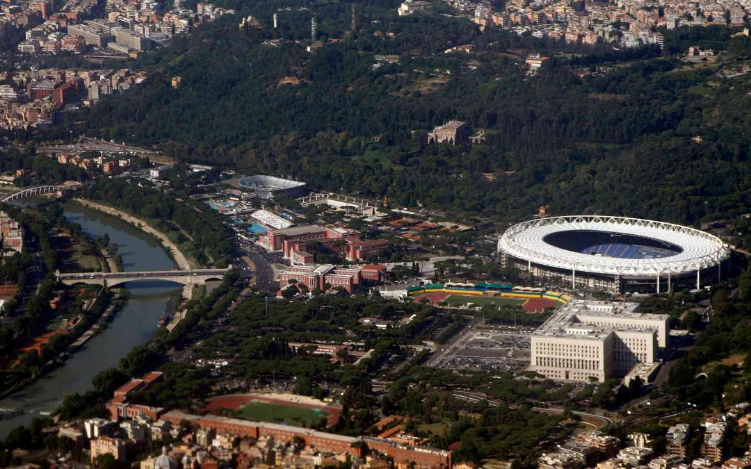 Olympic Stadium in Rome: a pitch of contradictions