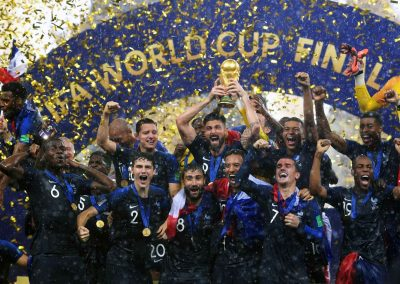 French team, winner of the Football World Cup 2018 in Russia (Photo: Russian Presidential Press and Information Office, kremlin.ru)
