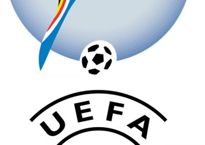 Official logo showing two flags