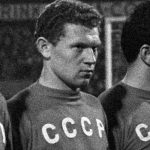 Banishevskiy in the USSR team in Rotterdam on 29 November 1967 against The Netherlands (photo: Jac. de Nijs / Anefo, Nationaal Archief)
