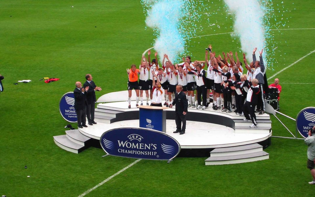 "Four decades of UEFA Women's Championships ""come home"""