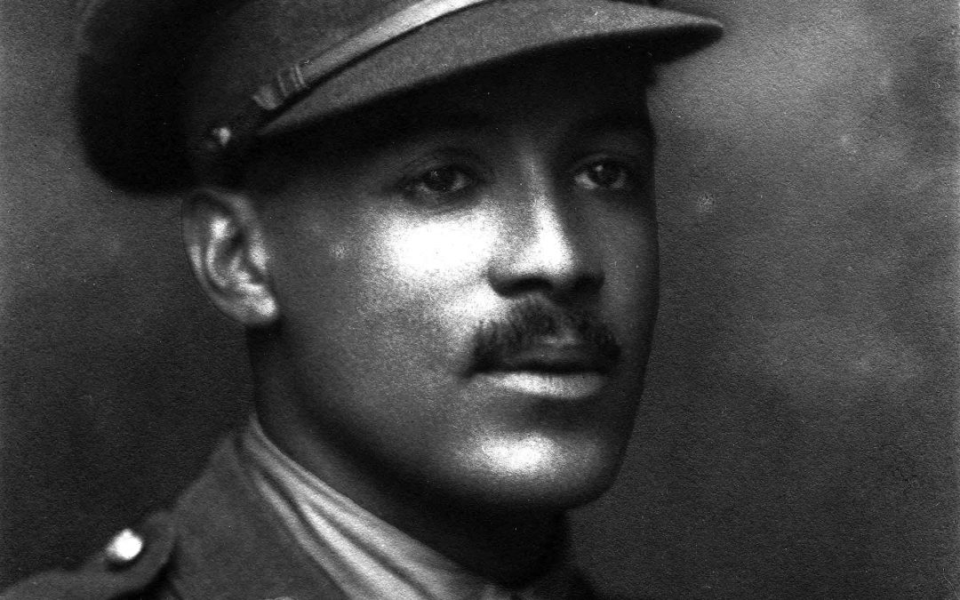 Walter Tull, Black footballer and Soldier