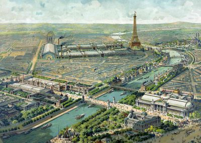 World exhibition in Paris, 1900, by Lucien Baylac (Library of Congress, USA, 15645)