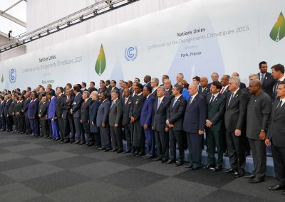 Heads of delegations at 2015 United Nations Climate Change Conference