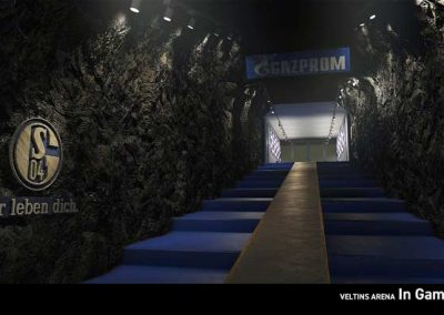 FC Schalke 04 honouring a mining tradition