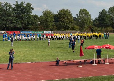 "Charity match of the Global United FC vs ""Tem Schwandorf"""