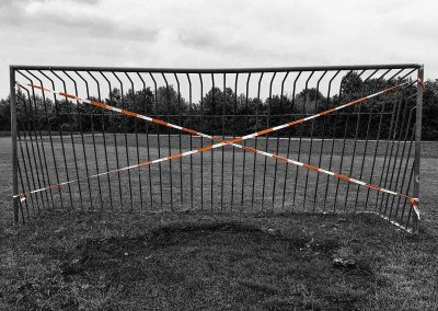 An empty Friedfeld (Germany) football pitch during lockdown (Photo: XoMEoX, WikiCommons).
