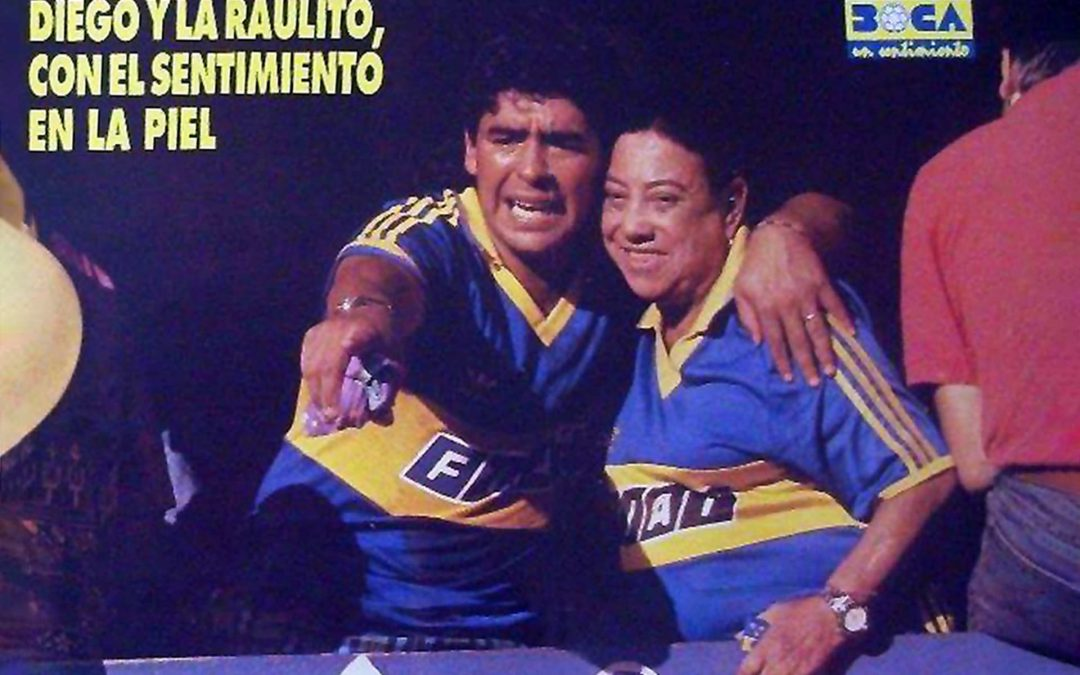 Blue (and gold) blood: la Raulito's love story with Boca Juniors