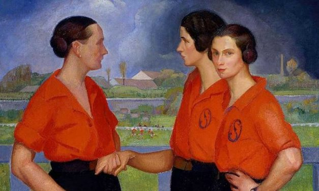 Painting the picture of women's football in 1922