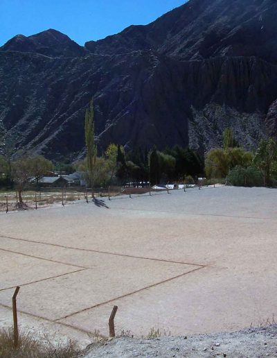 Football Pitch at 4000m of altitudine. Andes, Argentina, 2007.