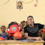 Project work in Ivory Coast (Source: Didier Drogba Foundation).